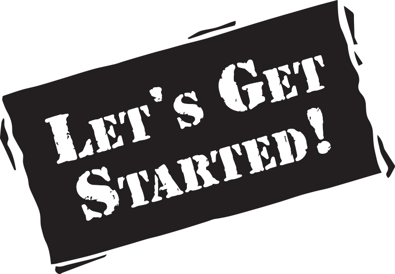 Let's Get Started graphic