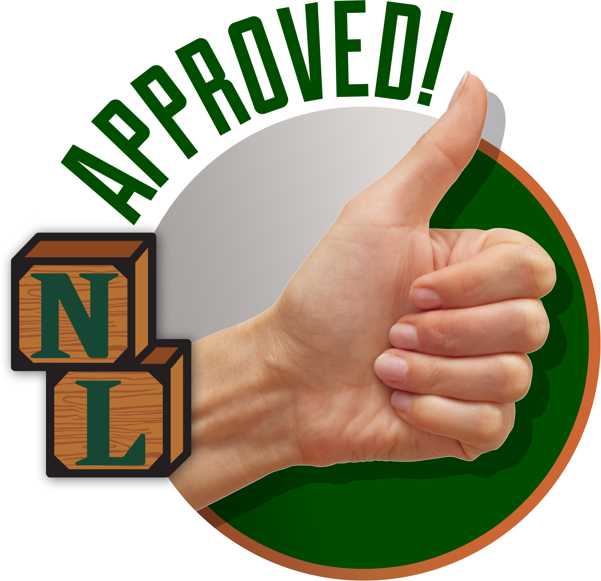 Northville Lumber Approved Thumbs Up Icon