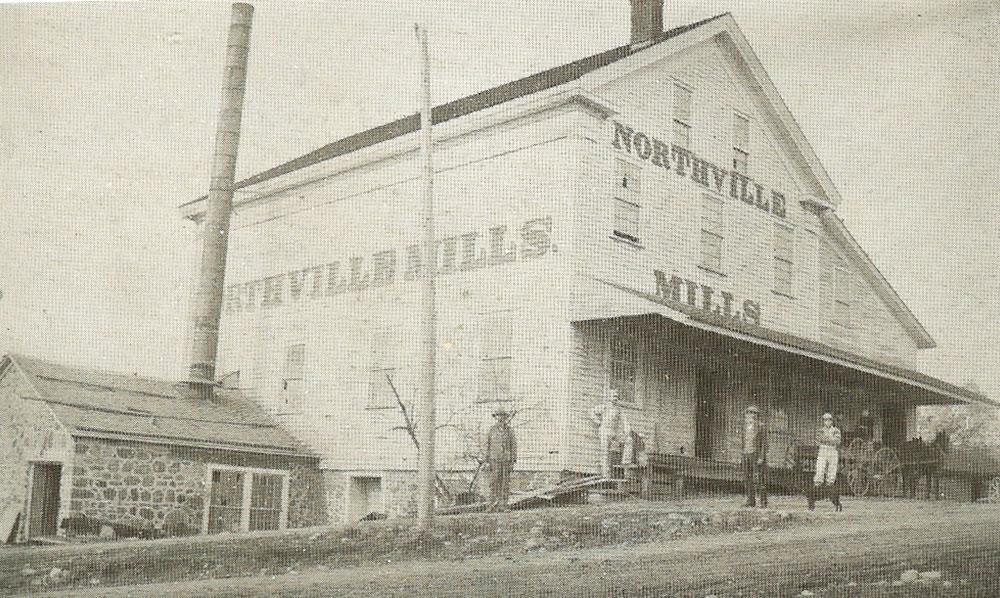 Northville Mills exterior, circa 1827
