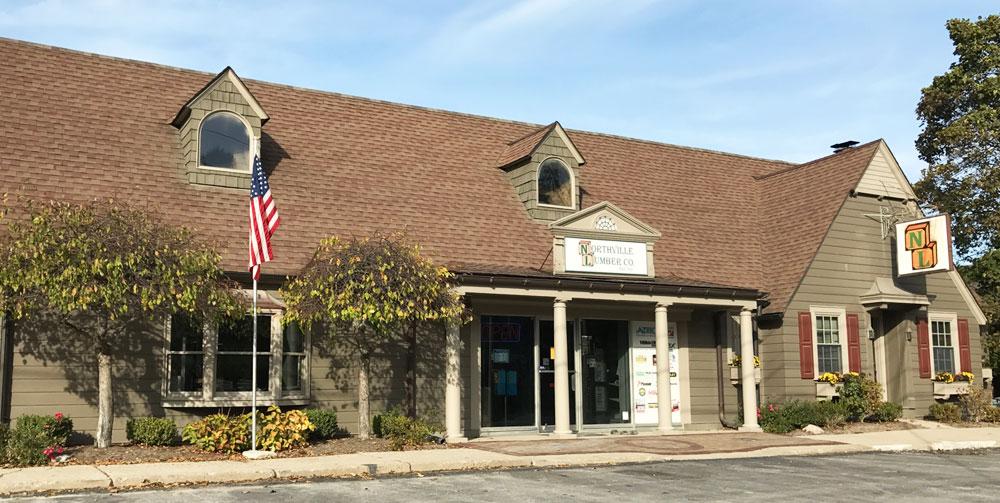 Northville Lumber Store Exterior