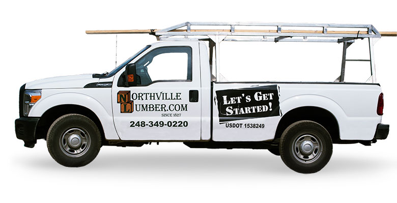 Northville Lumber Delivery Pickup Truck