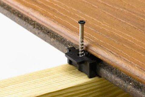 Trex hidden fastening system