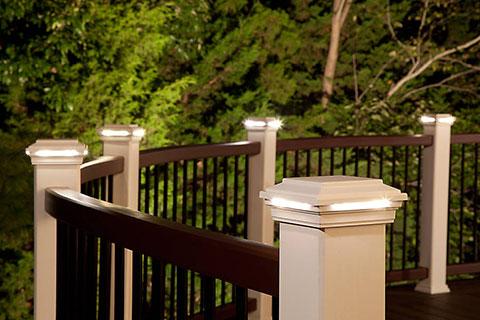 Trex post lights