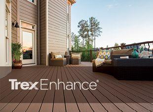Trex Enhance line deck