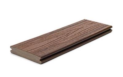 Trex grooved edged board