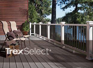 Trex Select line deck
