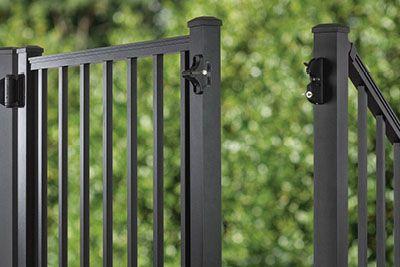 Trex Signature line aluminum gate