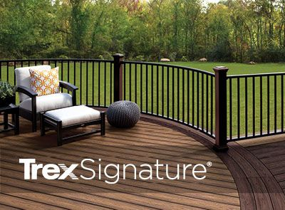 Trex Signature line railing