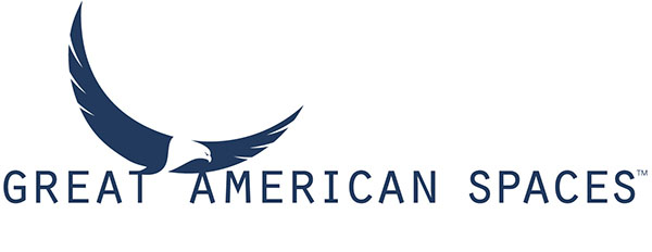 Great American Spaces logo